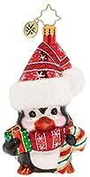 Christopher Radko 楽しいペンギン クリスマスオーナメント