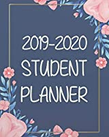 """2019-2020 Student Planner: 8""""x10"""" Academic Planner and Daily Organizer (Daily and Weekly Planners and Organizers for College, University and High School) (August 2019 - July 2020) (2019-2020 Student planner series)"""