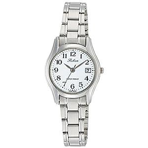 [シチズン キューアンドキュー]CITIZEN Q&Q 腕時計 Falcon ファルコン アナログ ブレスレット 日付 表示 ホワイト D017-204 レディース