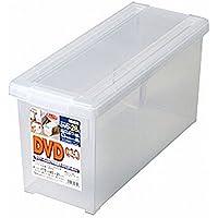 TENMA DVDいれと庫 クリア 175×450×210 IR-DVD