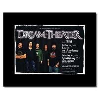 DREAM THEATER - UK Tour 2009 Mini Poster - 21x13.5cm
