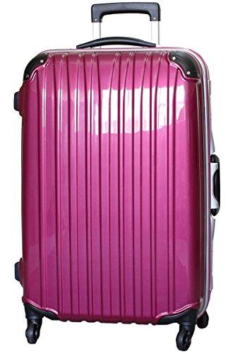 (ビータス) Beatas スーツケース TSAロック 軽量 アルミフレーム ビータス BH-F1000 Mサイズ 鏡面パープル(中型 4日5日6日7日用) 【一年修理保証】【M/PU】SUITCASE