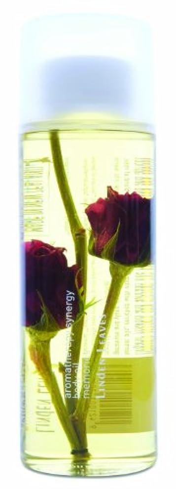 滑りやすいブリリアントストレスLINDEN LEAVES(リンデンリーブス) ボディオイル 250ml 「メモリーズ(ローズ)」 9421001381003