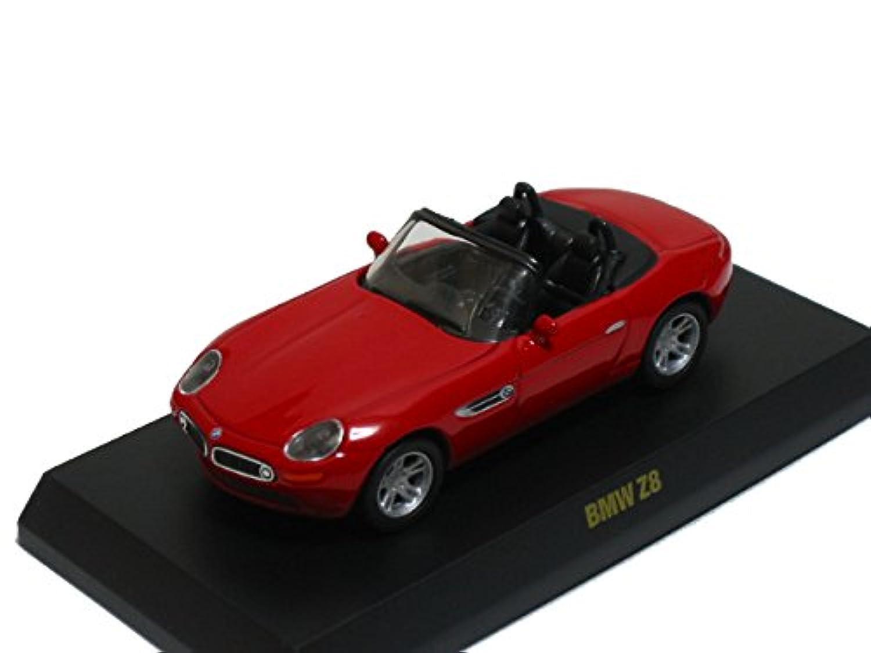 京商 1/64 BMW ミニカーコレクション1 Z8 赤