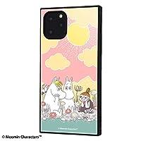 イングレム iPhone 11 Pro ケース, カバー ムーミン 耐衝撃 ストラップ ホール付き ハイブリッドケース KAKU /コミック_1 IQ-AP23K3TB/MT009