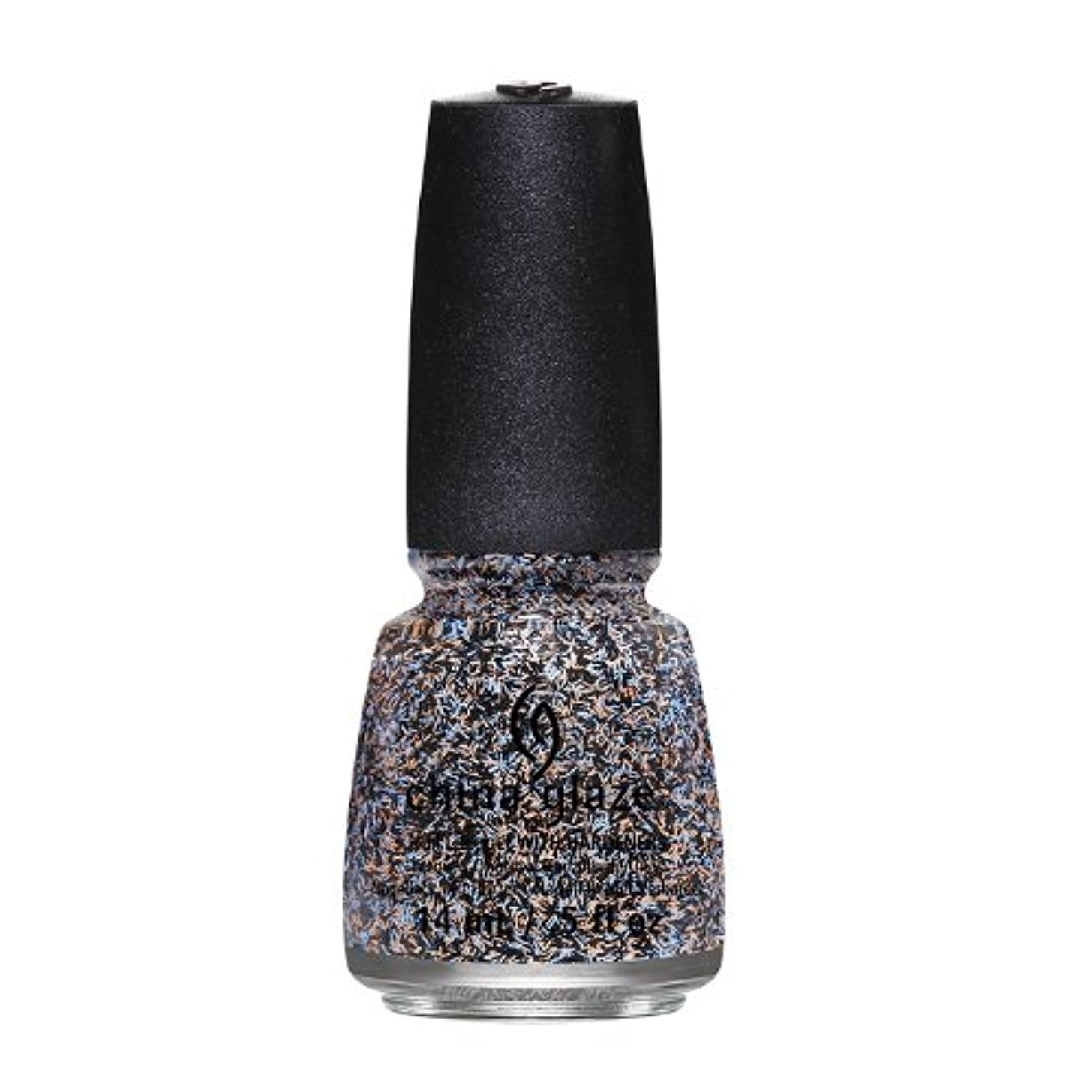 比較メッセージ破壊的CHINA GLAZE On The Horizon - Feathered Finish - Party Fowl (並行輸入品)