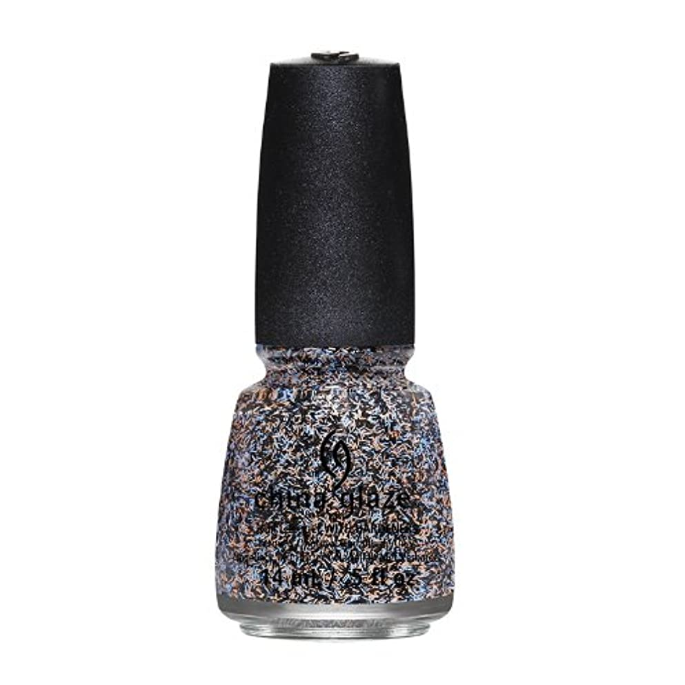 エロチック文言ストリームCHINA GLAZE On The Horizon - Feathered Finish - Party Fowl (並行輸入品)