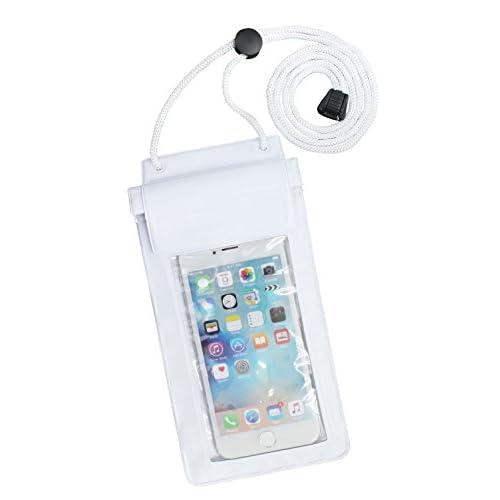 (アプラージュ)UPLAGE スマホ用防水ケース スマホ対応 iPhone iPhone6 iPhone6s Android GALAXY アイフォン アンドロイド ギャラクシー MK0002 ホワイト
