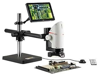 ライカ(LEICA) 8倍ズームデジタルマイクロスコープ スイングアーム LED照明付 DMS300 S