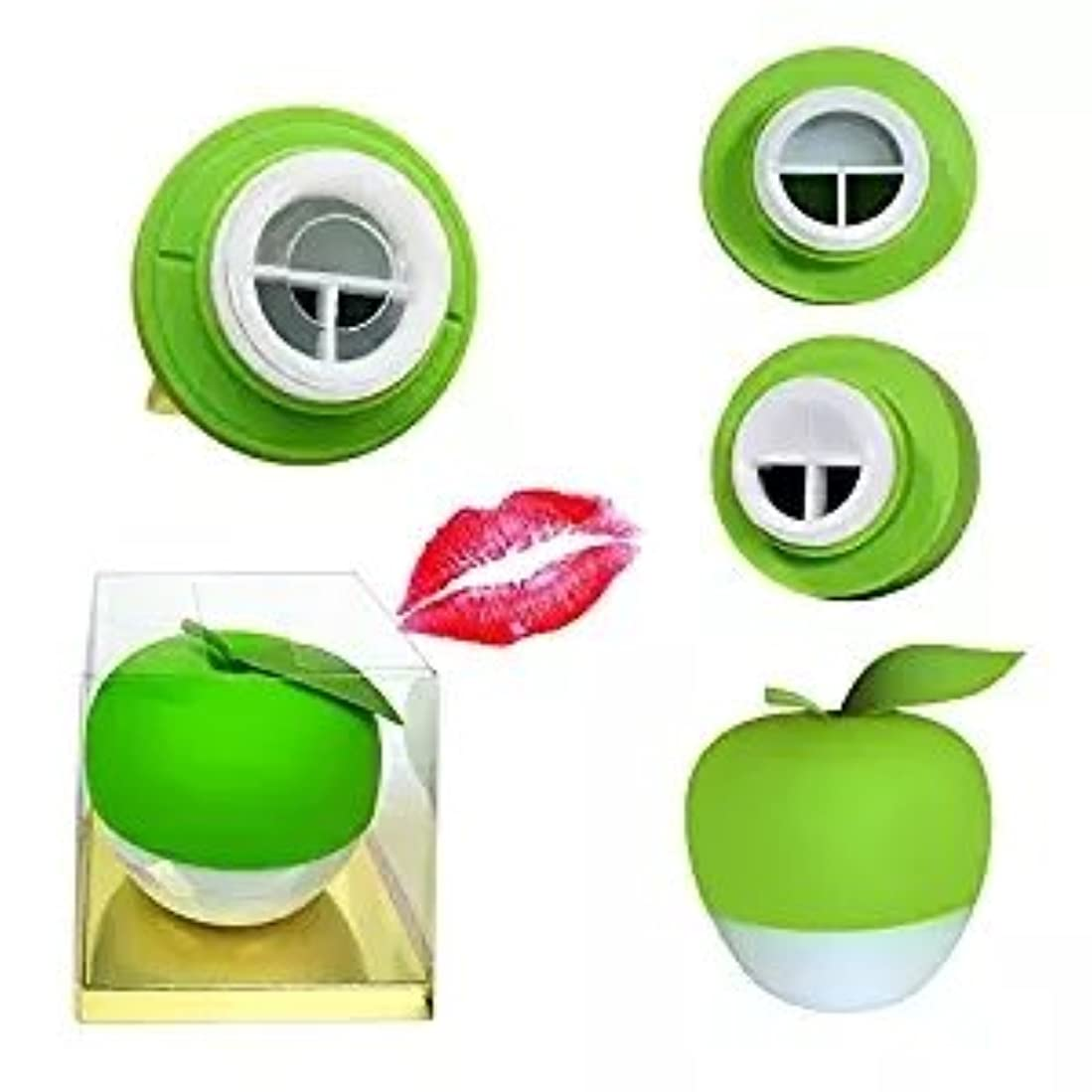 ずんぐりしたゴールの量Yartar リップエンハンサー セクシーリップス  シリコン製 コンパクト ピンク Lip Plumper (グリーン)