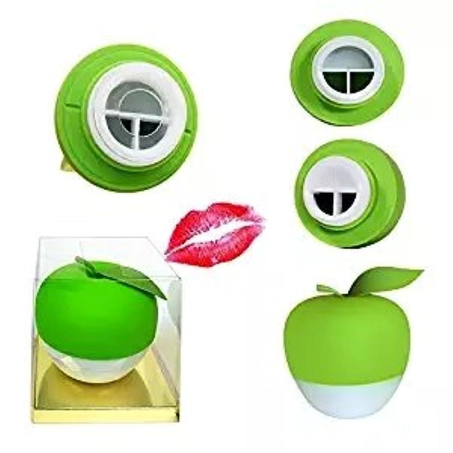 金属ライトニング偏差Yartar リップエンハンサー セクシーリップス  シリコン製 コンパクト ピンク Lip Plumper (グリーン)