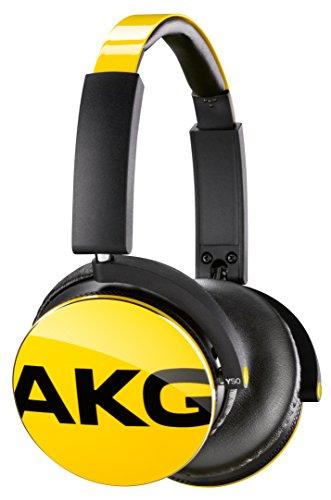 AKG Y50 密閉型オンイヤーヘッドホン DJスタイル イエ...