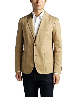 Chino 2-button Jacket 1222-174-0494: Beige