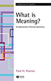 What is Meaning?: Fundamentals of Formal Semantics (Fundamentals of Linguistics)