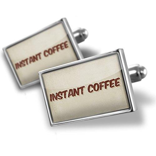 Cufflinksインスタントコーヒー、ヴィンテージスタイル...