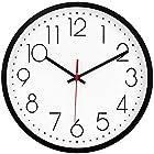 【秘密クーポン】掛け時計 連続秒針 静音 シンプル ヨーロピアン調が激安特価!