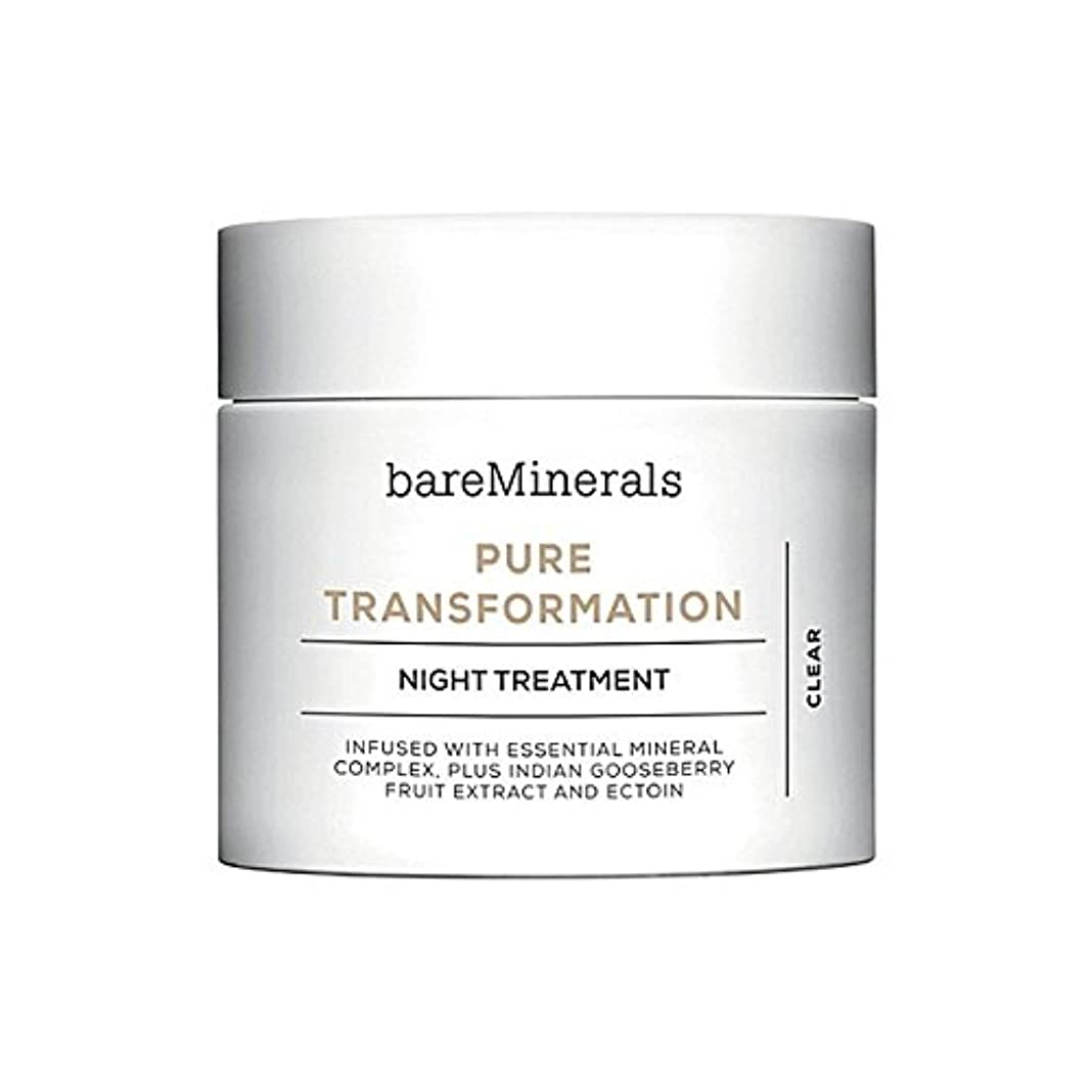 令状バルブ緊張ベアミネラル純粋な変態夜の治療 x4 - Bare Minerals Skinsorials Pure Transformation Night Treatment (Pack of 4) [並行輸入品]