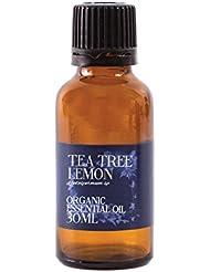 Mystic Moments | Tea Tree Lemon Scented Organic Essential Oil - 30ml - 100% Pure