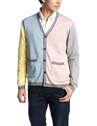 Cotton V-neck Cardigan 38-15-0035-048: Crazy