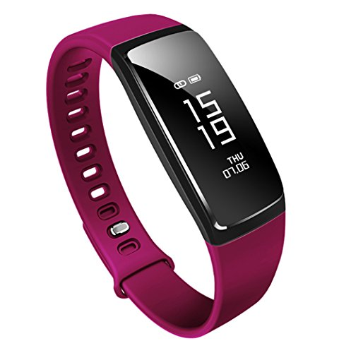 スマートブレスレット 活動量計 心拍計 血圧測定 歩数計 防水 スマートウォッチ LINE アラート iphone