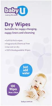 Baby U Dry Wipes, 100 count (5135)