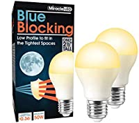 MiracleLED 604667 3W 2-Pack Blue Blocking Light、ロープロファイル