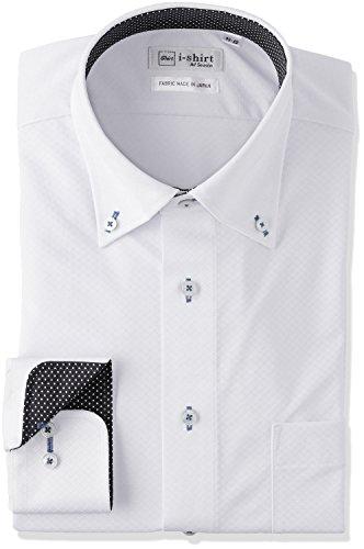 (ハルヤマ)HARUYAMA i-shirtボタンダウンアイシャツ 1151701163  ホワイト M(39-82)