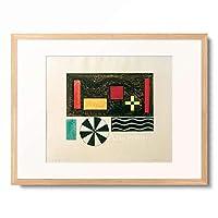 ワシリー・カンディンスキー Wassily Kandinsky (Vassily Kandinsky) 「Bilder einer Ausstellung, Bild VII: Bydlo」 額装アート作品