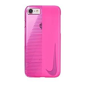 NIKE(ナイキ) トランスペアレント スウッシュ iPhone 8/7 ケース デジタルピンク