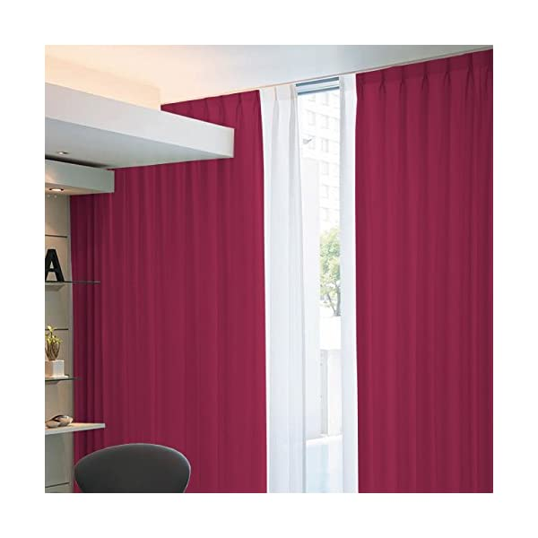 窓美人 アラカルト 1級遮光カーテン 2枚組 幅...の商品画像