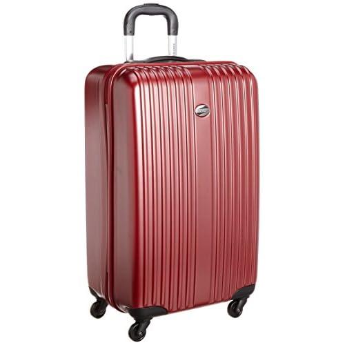 [アメリカンツーリスター] AmericanTourister ELITE-POP / エリートポップ スピナー72  (72cm/65L/4.5Kg) (スーツケース・キャリーバッグ・TSAロック・大容量・軽量・ファスナー・保証付き) 95Z*80017 80 (バーガンディー)