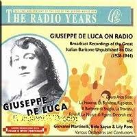 Giuseppe De Luca on Radio