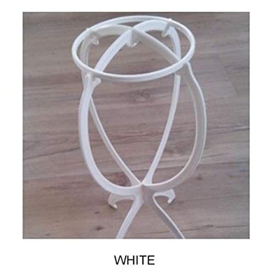 アルファベット故国最後にACHICOO ウィッグ専用ブラケット カツラ収納 棚 ファッション 白