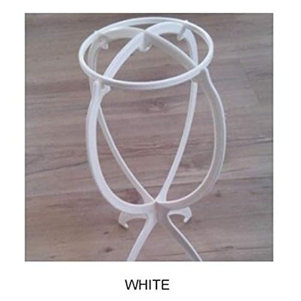 導出愛人悪いACHICOO ウィッグ専用ブラケット カツラ収納 棚 ファッション 白