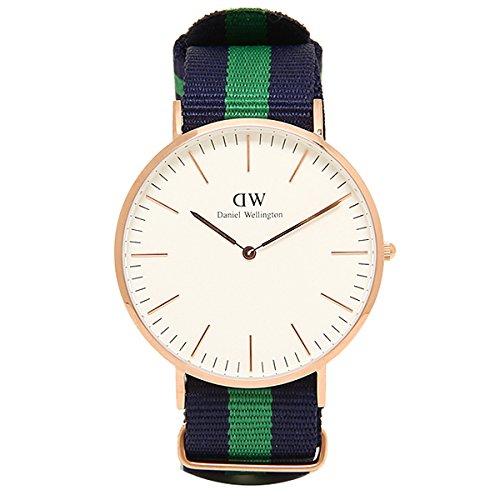 (ダニエルウェリントン) Daniel Wellington 腕時計 メンズ/レディース 0105DW ベルト40 CLASSIC クラシック WARWICK/ROSEGOLD[並行輸入品]