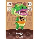 Drago - Nintendo Animal Crossing Happy Home Designer Amiibo Card - 243 by Nintendo