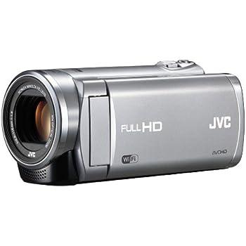 JVCケンウッド JVC ハイビジョンメモリームービー Everio GZ-EX250 16GB Wi-Fi搭載 シルバー GZ-EX250-S