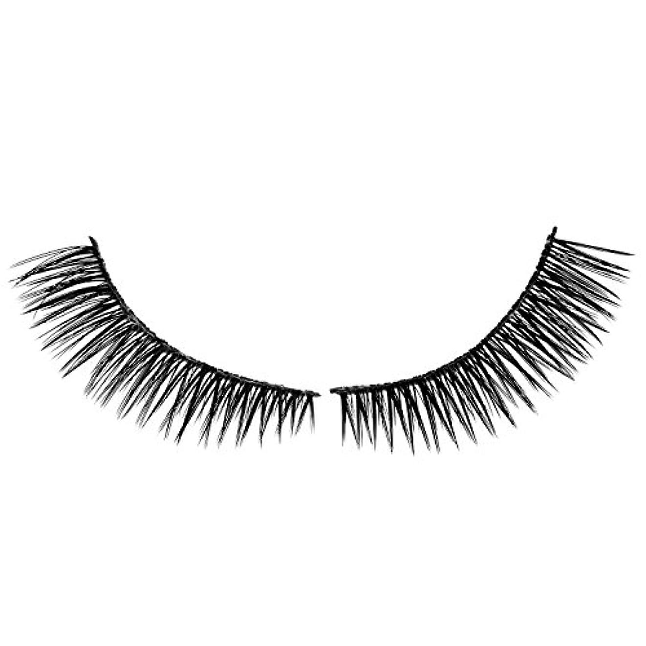 消費するシンプルな浸漬SODIAL 1組つけまつげ人工睫毛自然美容メイクつけまつげ018