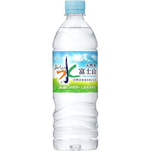 アサヒ おいしい水 富士山 600ml×24本