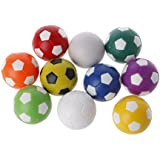 JAGENIE 32mm Plastic Foosball Table Soccer Table Indoor Family Game colorful Sports Toys,1PC,Random Delivery