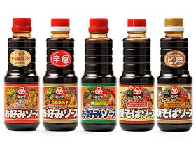 広島風お好み焼ソース ミツワ お好みソース&焼きそばソース5種類セット