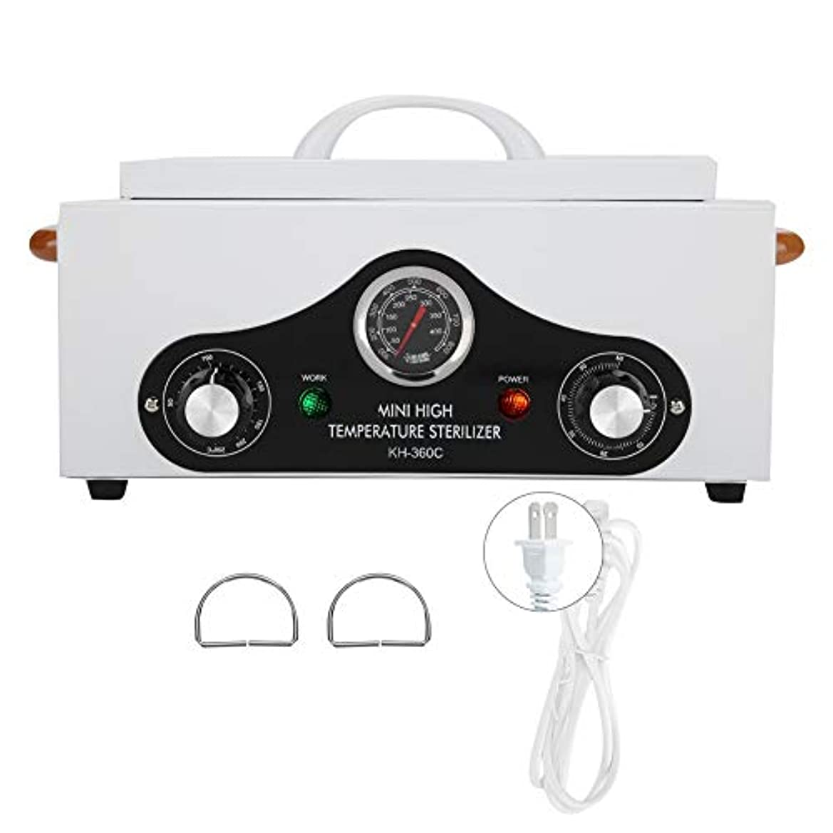 オープニング持っている大学生高温滅菌器、消毒キャビネットビューティーサロンスパインストゥルメントクリーニングツール(USプラグ110V)