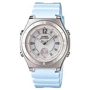 [カシオ]CASIO 腕時計 ウェーブセプター 電波ソーラー LWA-M142-2AJF レディース