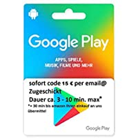 Google Play ギフトカード $15分