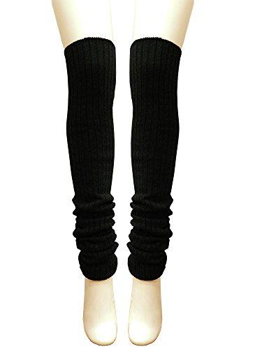 (シータ) si-ta日本製90cm超ロングリブ編みレッグウォーマー