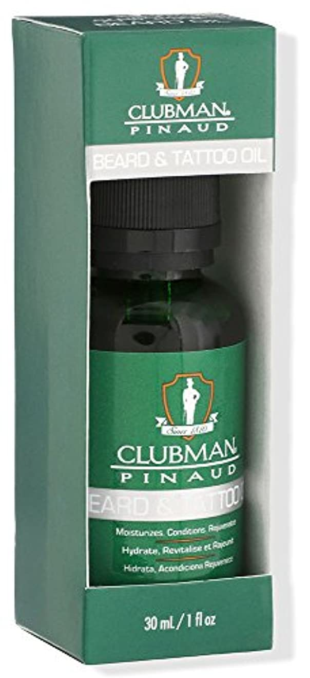 セッティング海推定Clubman Beard Essentials - Beard and Tattoo Oil - 1oz / 30ml