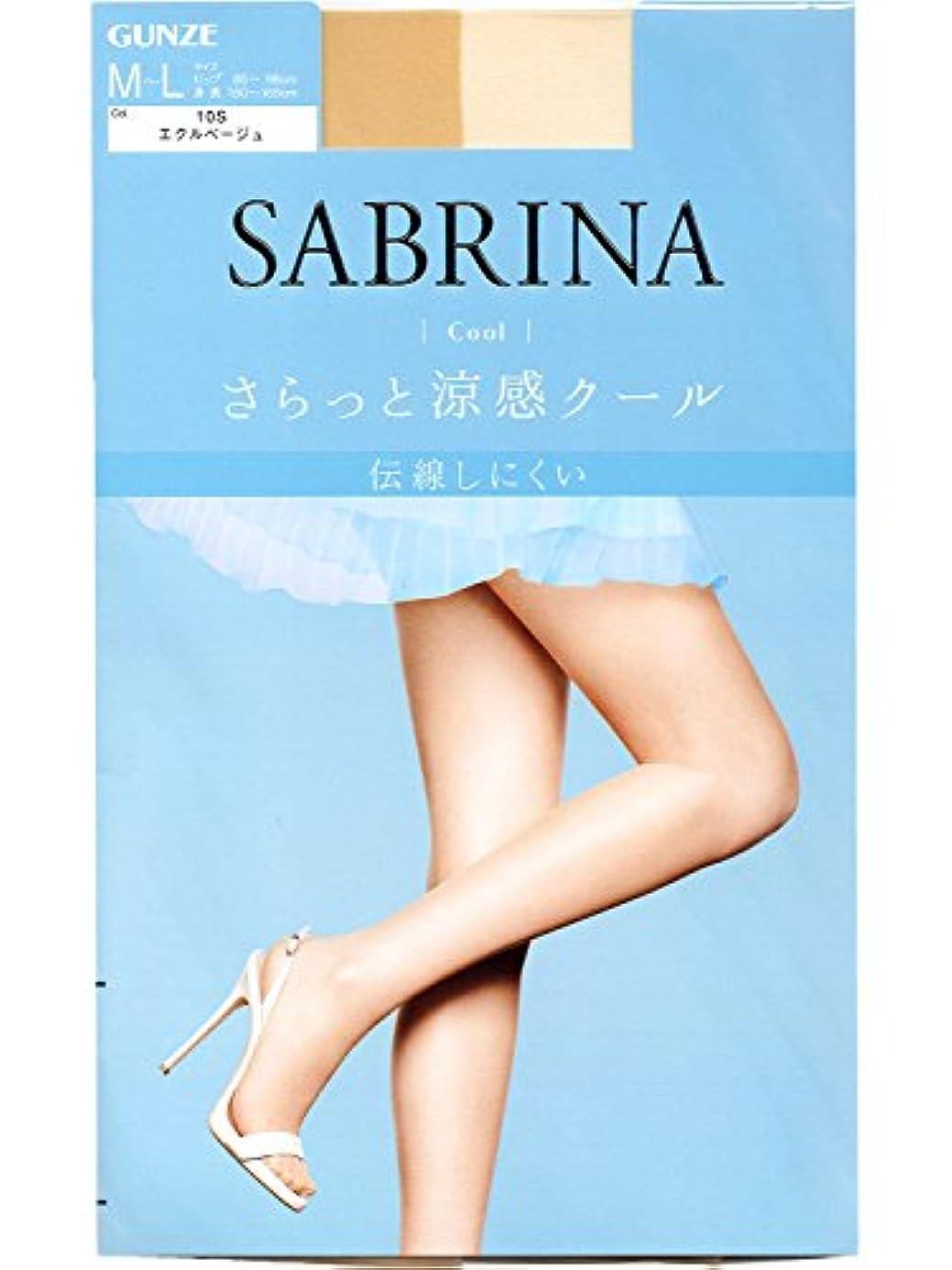 適合薬気分SABRINA(サブリナ) ストッキング クール SB470L エクルベージュ L-LL