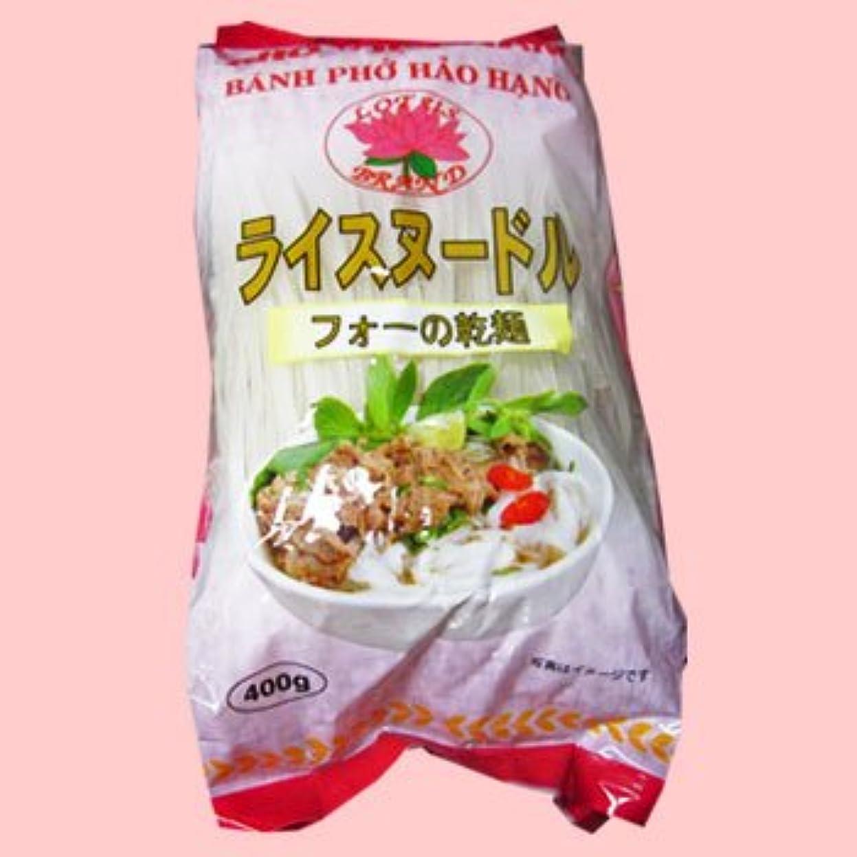 楕円形手伝う配列ベトナムフォー 4mm 400g X10袋 セット (グルテンフリー お米のうどん ライスヌードル) (米麺 米粉麺) (ベトナム料理)