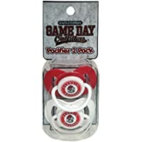 NCAA Georgia Bulldogs Infant Pacifier 2 Pack