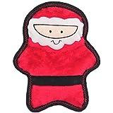 Zippy Paws ZP672 Holiday Z-Stitch - Santa, Squeak Toys